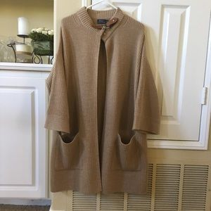 Ralph Lauren Polo wool blend coat sweater